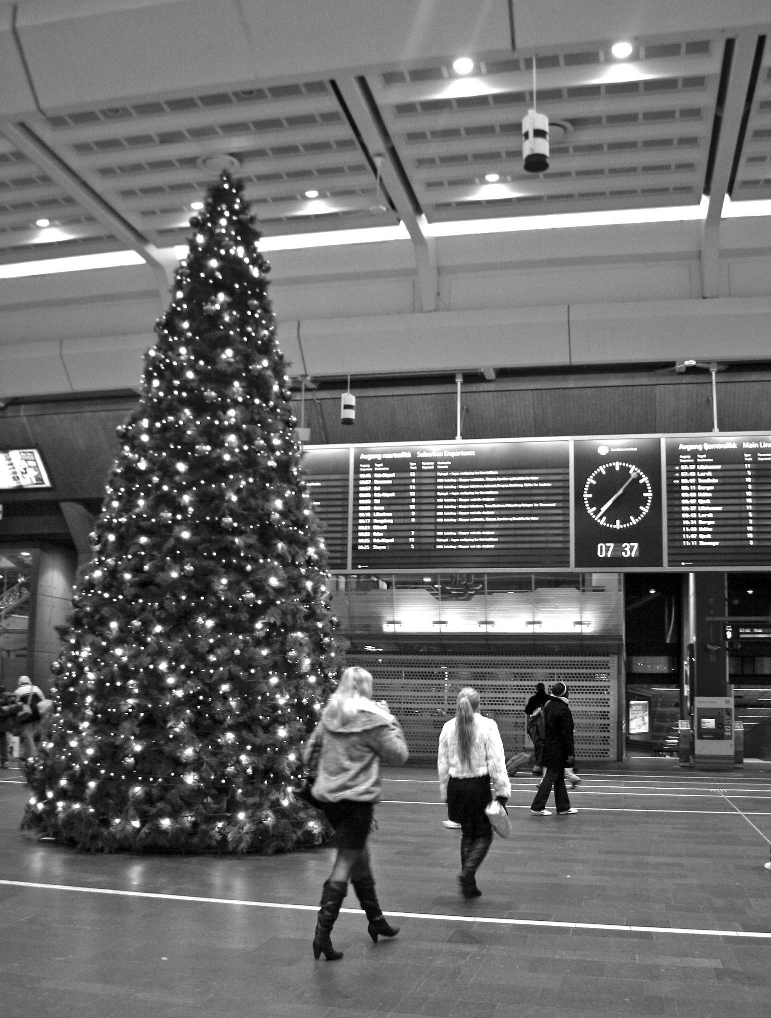 gare centrale d'Oslo