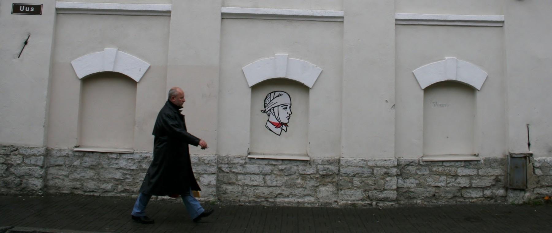 Mur Tallinn, Estonie