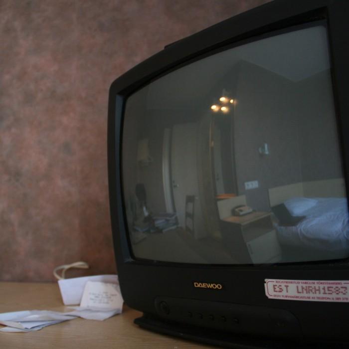 TV estonienne et papier peint moche
