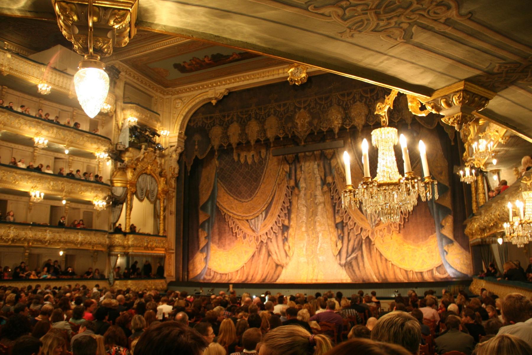 Décor du Théâtre Mariinski Saint Petersbourg