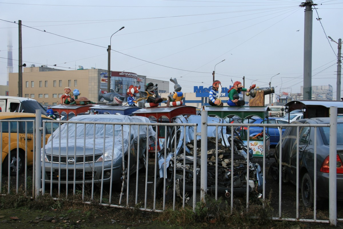 Les voitures en Russie, pires que certaines ZX