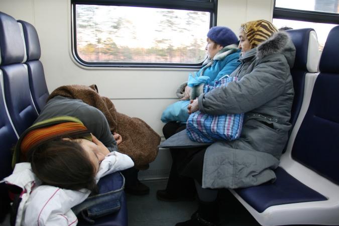 Train Russie Finlande