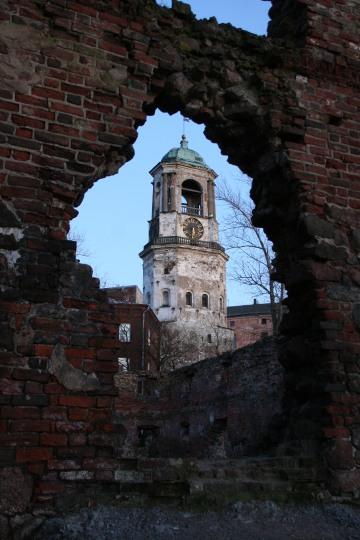 Ruines à Vyborg, Russie
