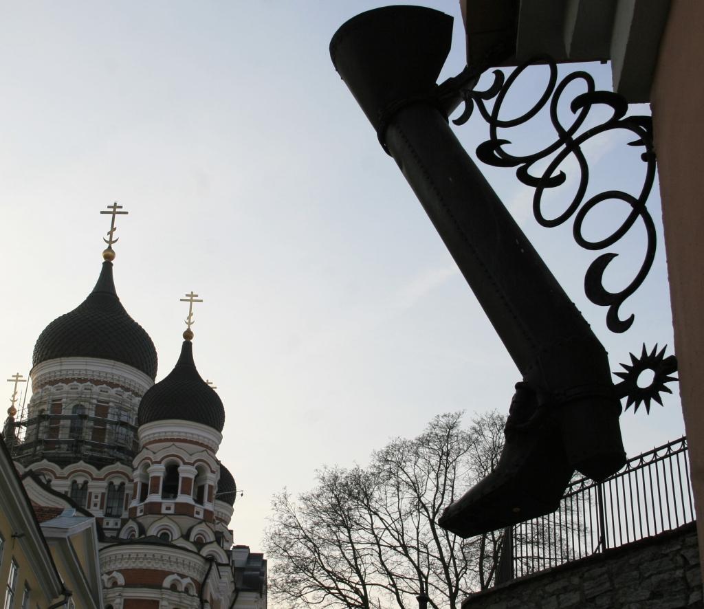 cathédrale Alexandre Nevsky Tallinn, Colline de Toompea