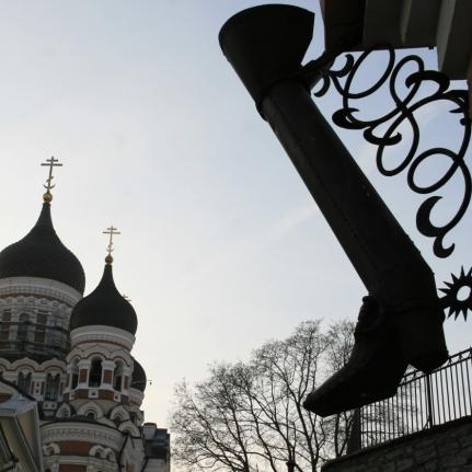 Cathédrale Alexandre Nevsky, Tallinn (novembre 2011)