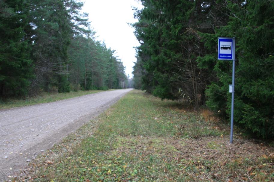 Route en Estonie