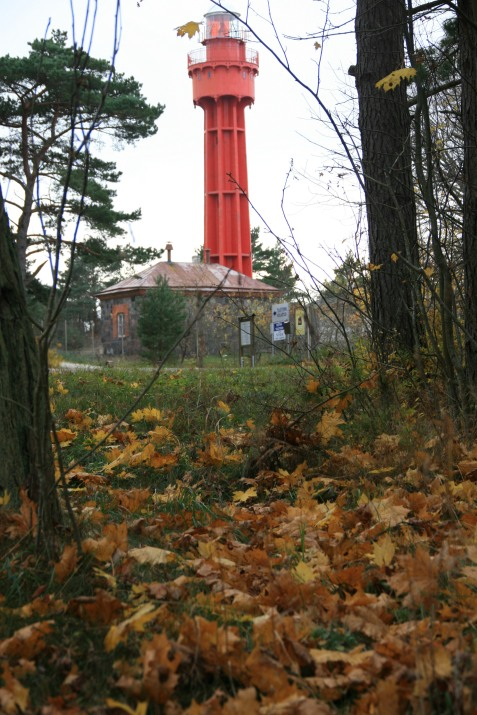 phare en Estonie, île de Hiiumaa