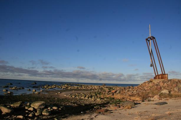 mémorial Estonia île de Hiiumaa