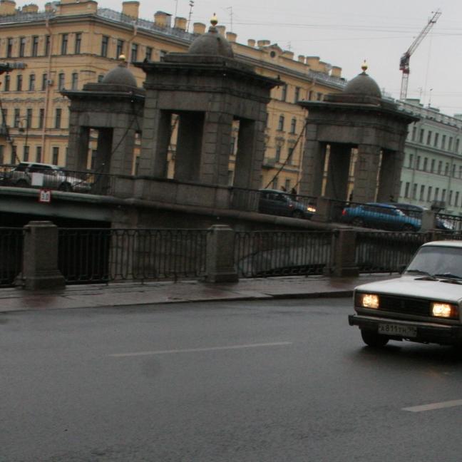 Saint-Petersbourg, Russie (novembre 2011)