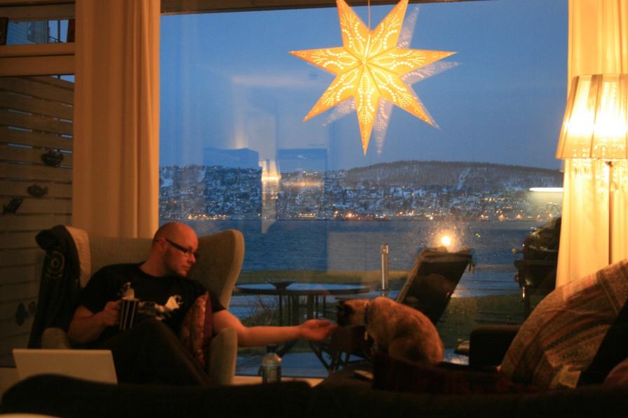 Rencontres sur la route, Tromsø, décembre 2010