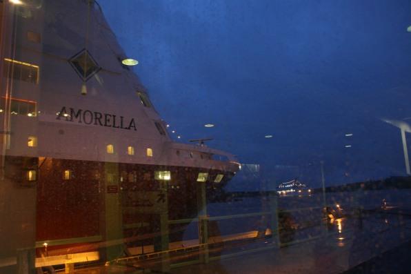 Ferry à Turku, Finlande (novembre 2011)