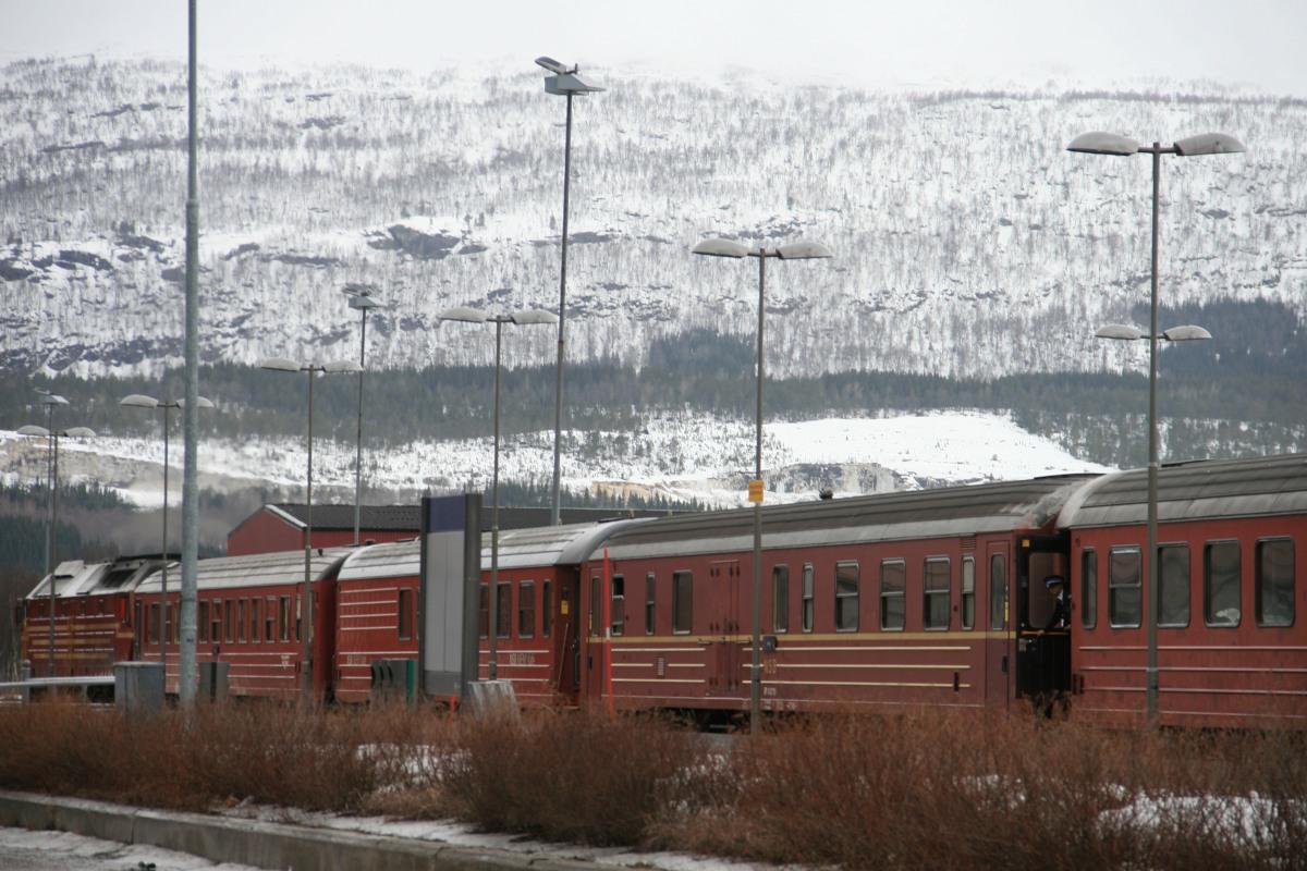 A propos des trains norvégiens...