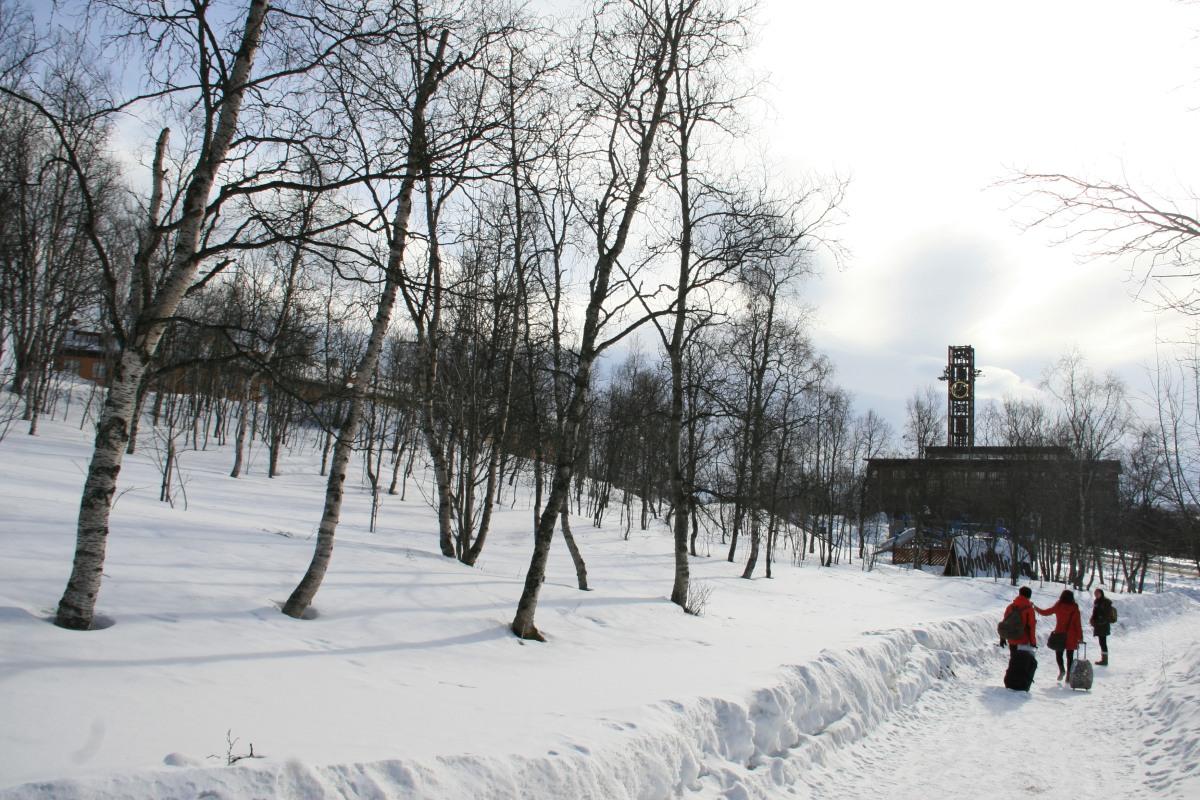 Kiruna, capitale de la Laponie suédoise