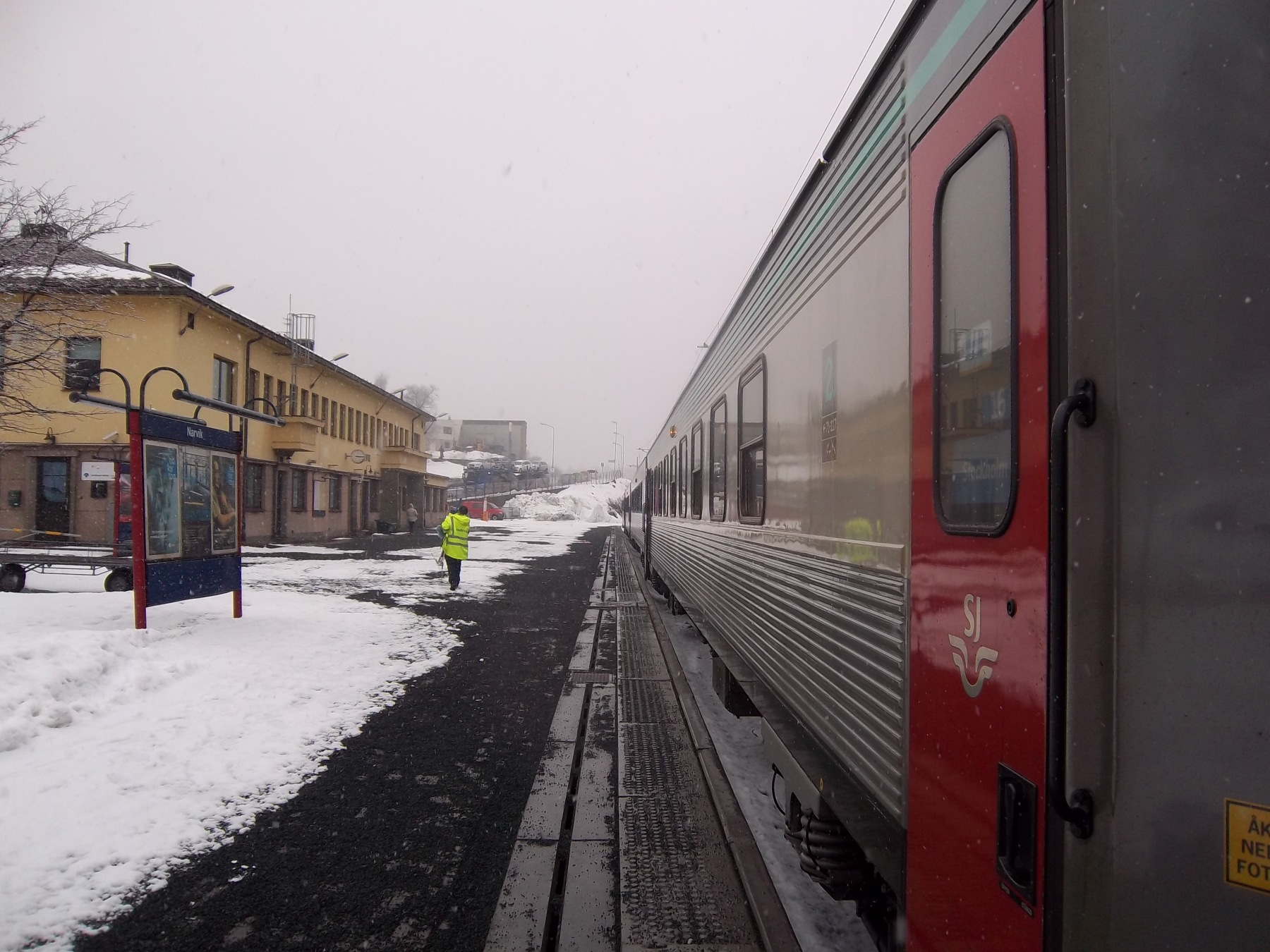 Train Narvik-Kiruna