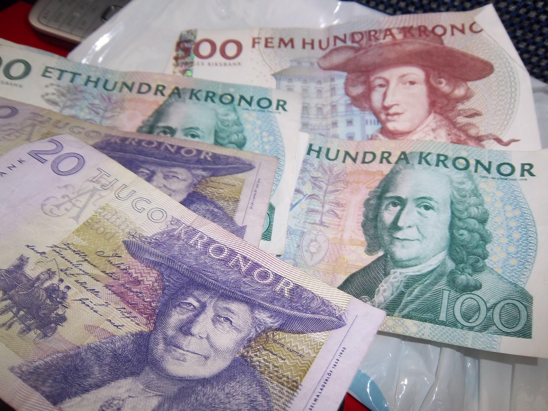 changer de monnaie dans le train Narvik-Kiruna