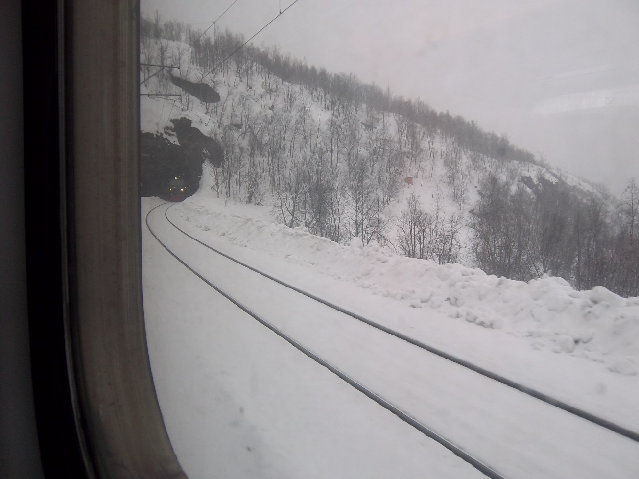 paysages Train Narvik-Kiruna