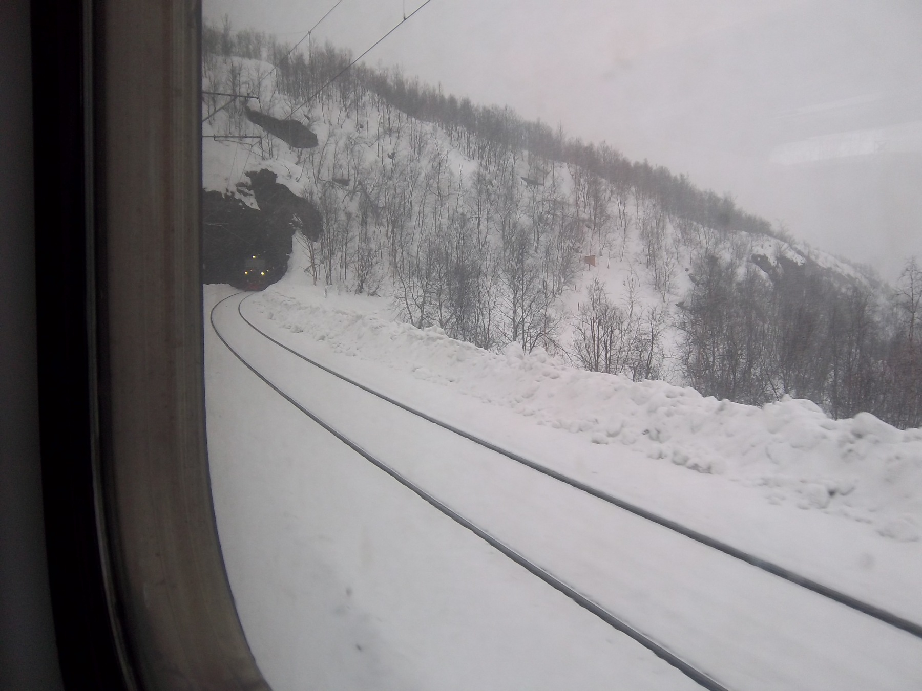 paysages Train Narvik-Kiruna