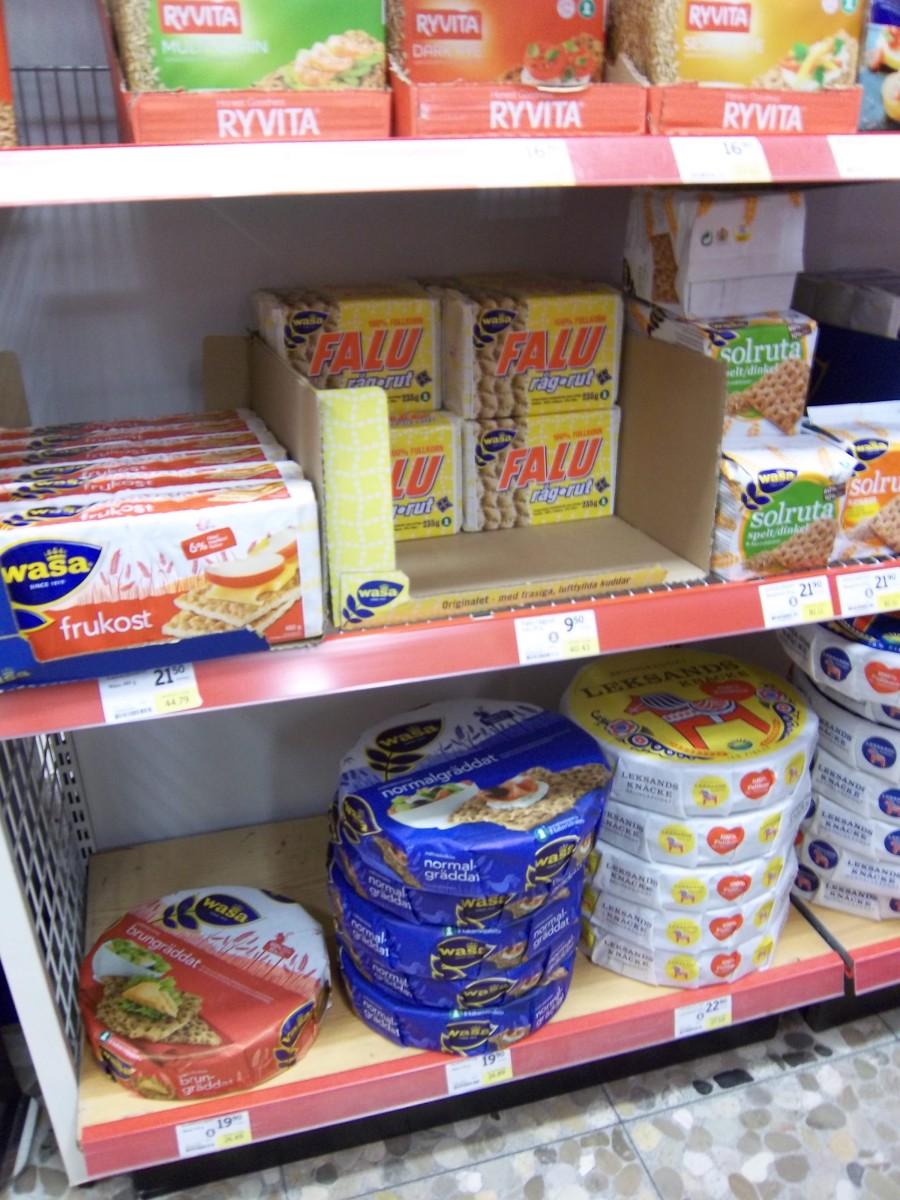 Le jour où… j'ai appris que les Suédois ne mangent pas de Krisprolls