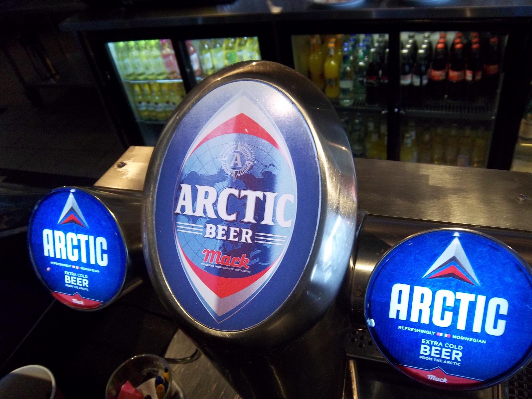 Arctic beer en Norvège