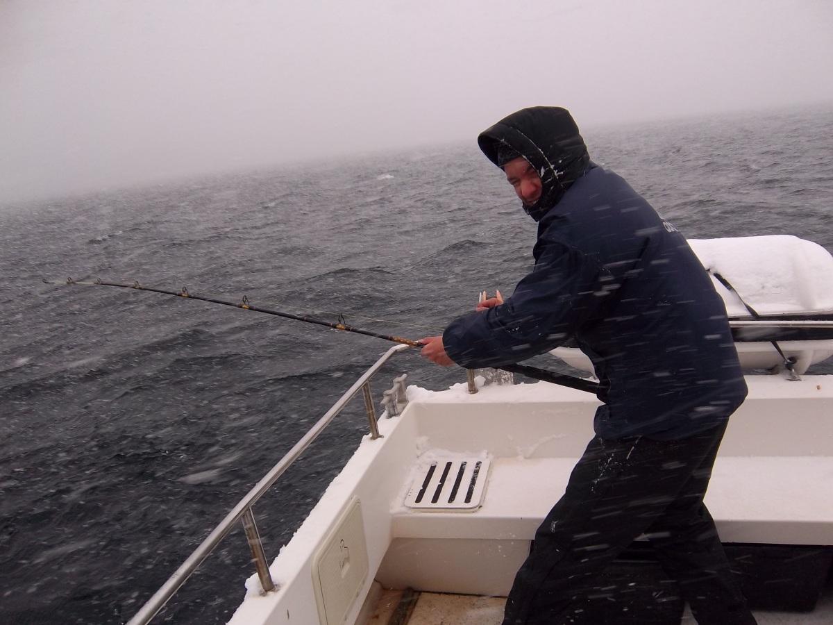 Le jour où... j'ai pêché la morue sous la neige des Lofoten, en Norvège