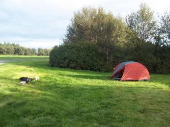 Camping Reykjavik, premier soir, Islande, septembre 2012