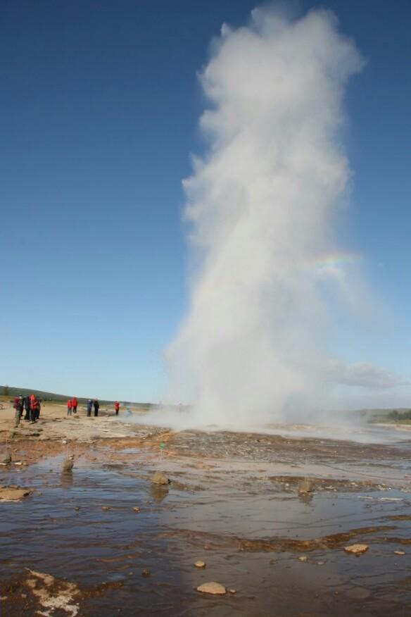 Geysir, Islande, septembre 2012