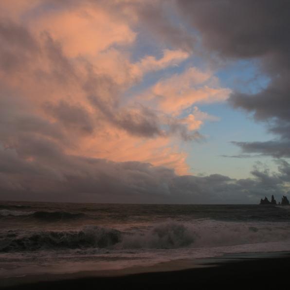 Vik, ciel après l'orage, Islande, septembre 2012