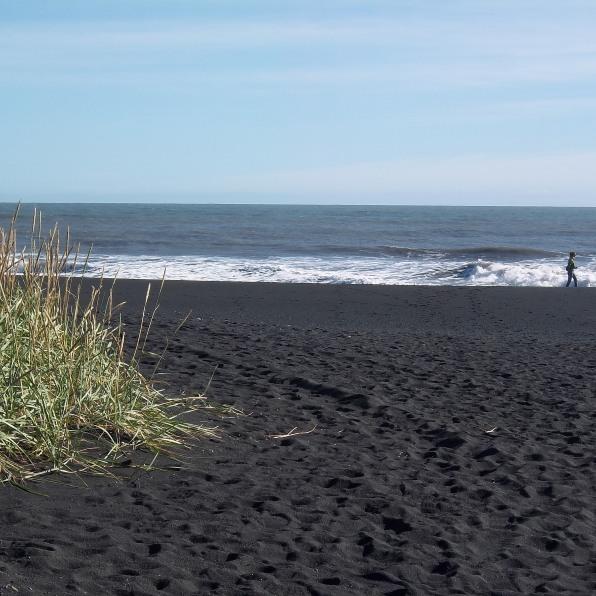plage de sable noir de Vik, Islande, septembre 2012