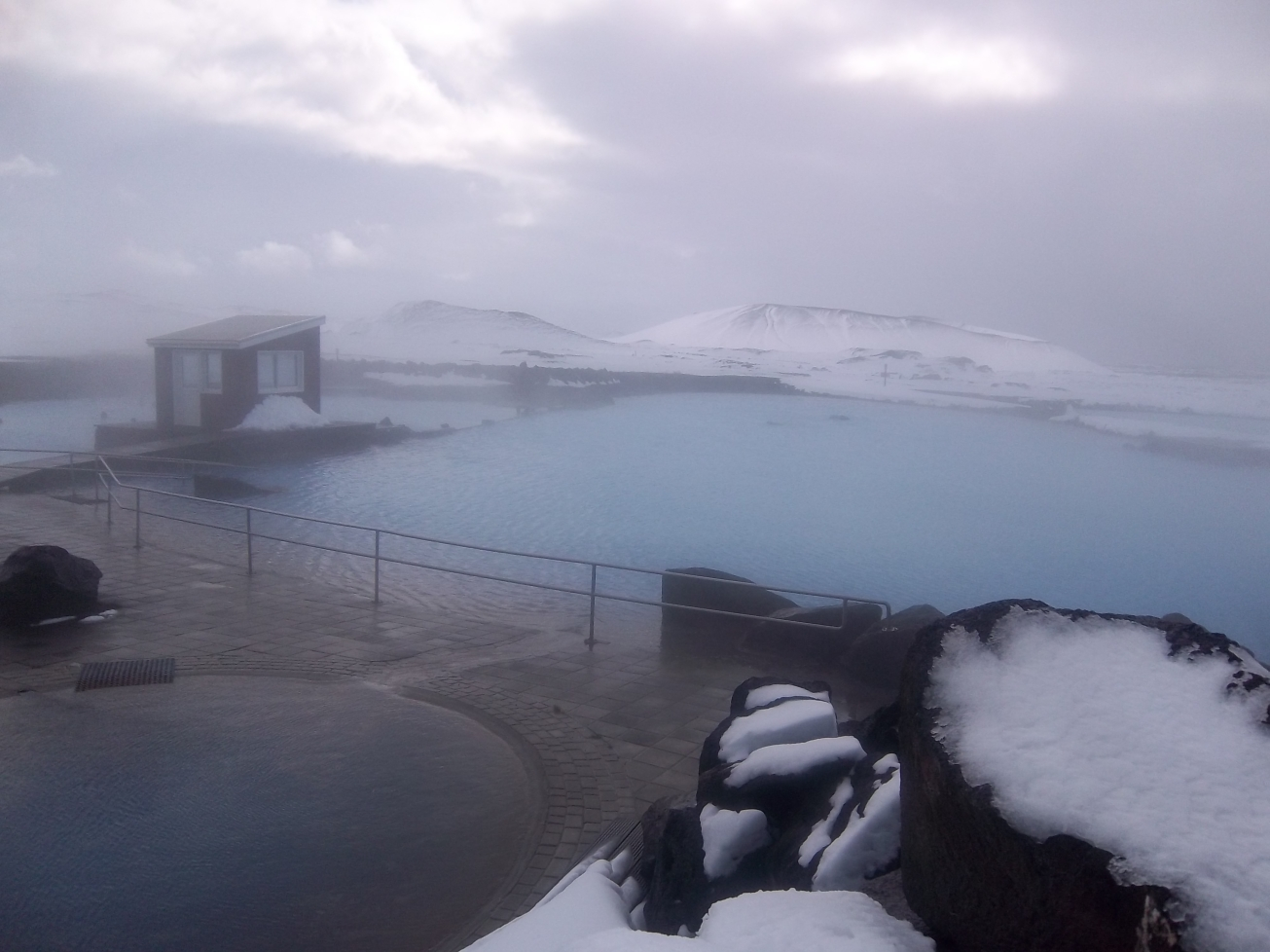 source d'eau chaude en islande