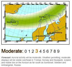 Geophysical Institute map