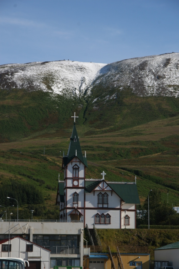 Eglise d'Husavic, Islande, septembre 2012