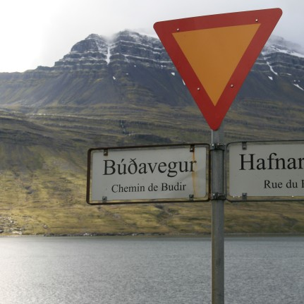 Village franco-islandais, Islande, septembre 2012