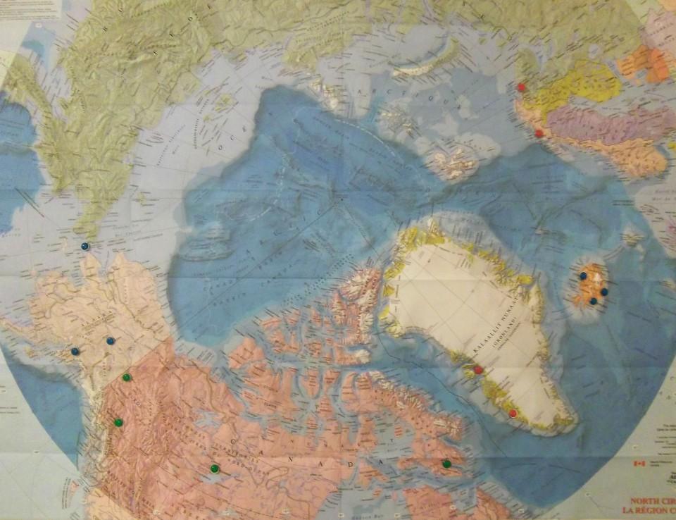 Voyage le long du cercle polaire