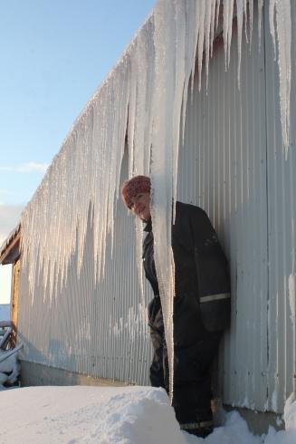 Stalactites géantes en Islande