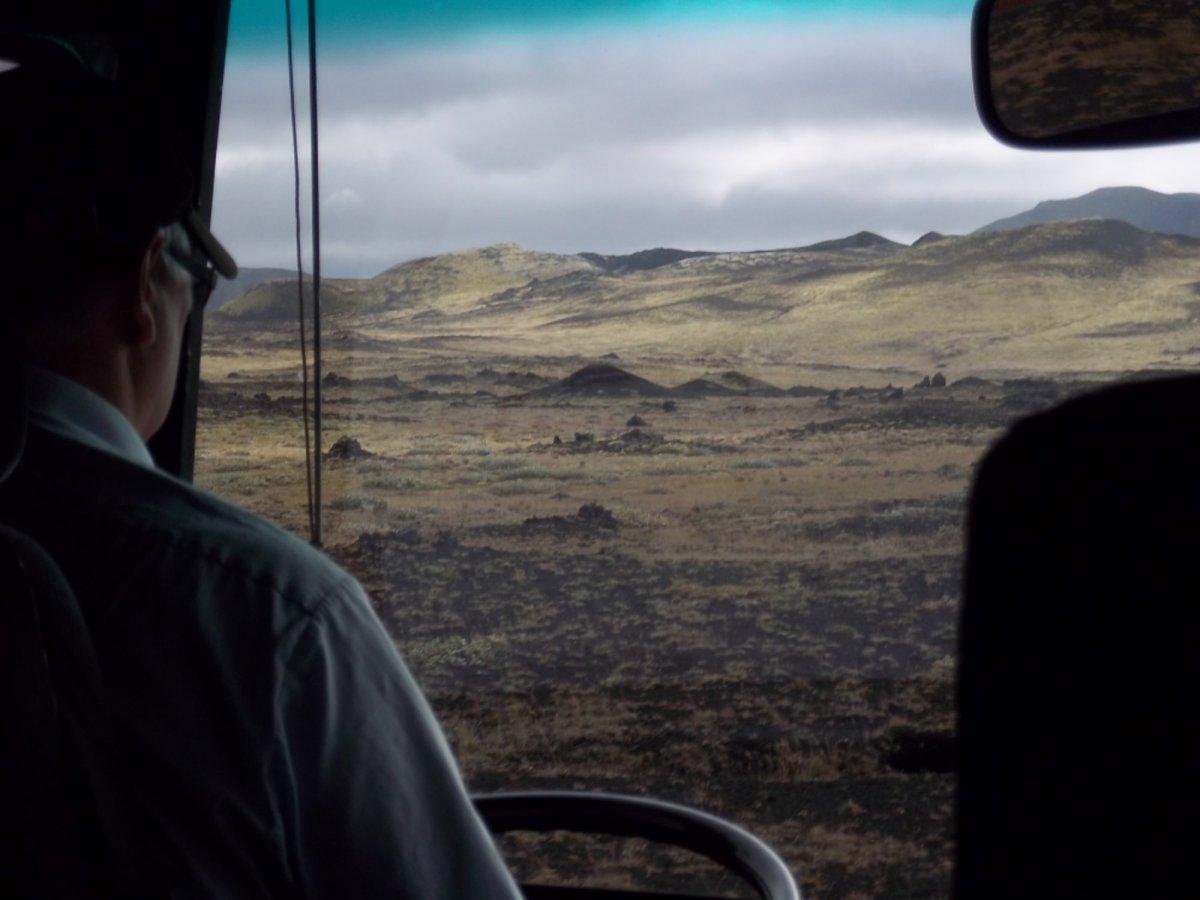 En route pour Landmannalaugar