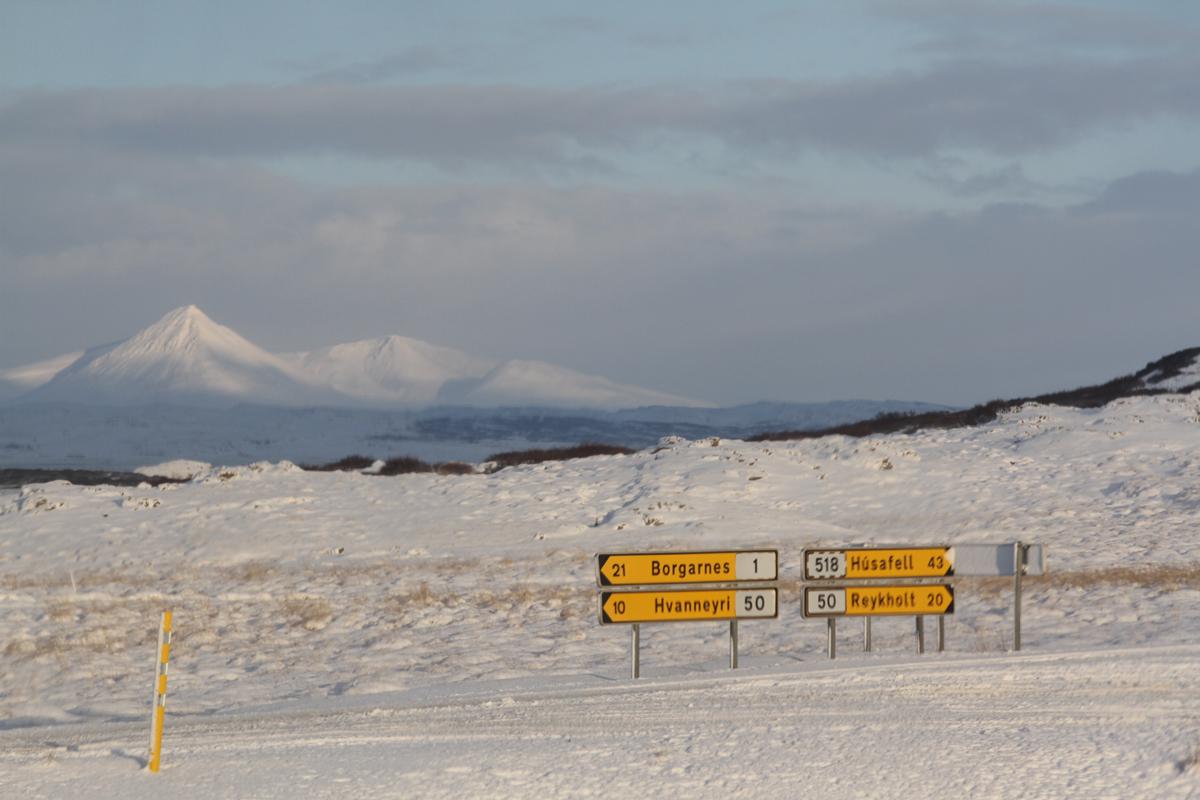 Route islande novembre