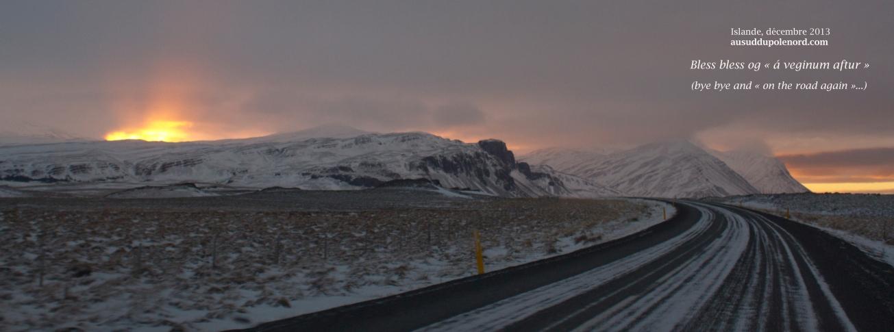 Hiver polaire on the road again en Islande