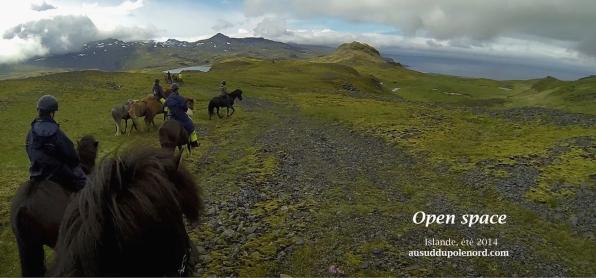 Snaefellsnes open space rando a cheval