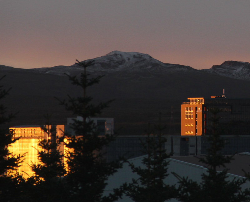 Encore un matin, en Islande. Vivre à Reykjavik