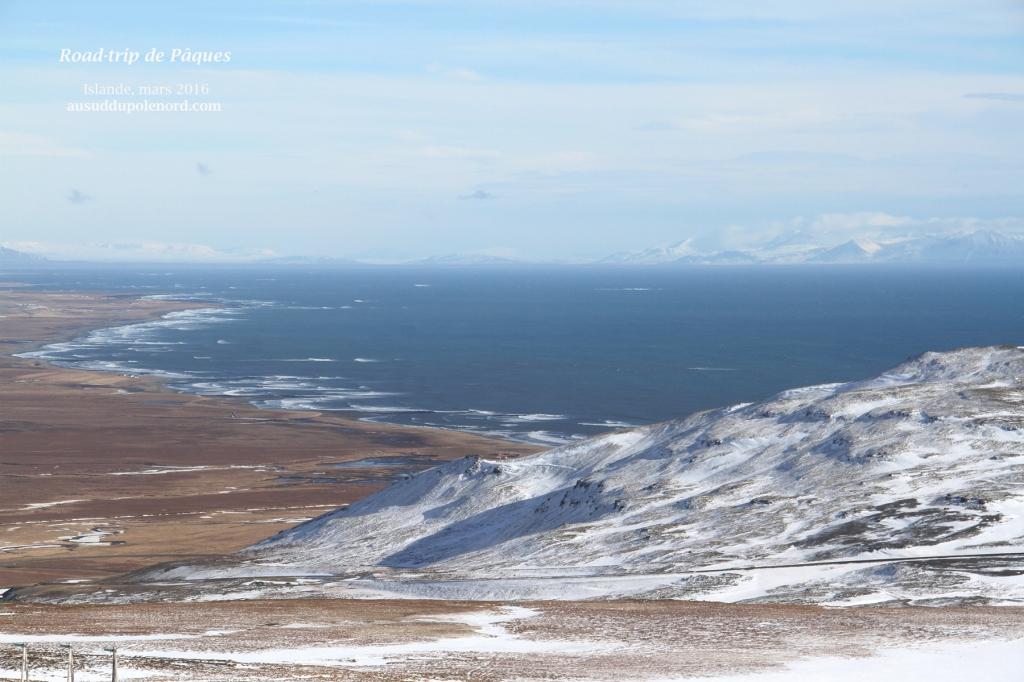islande road trip mer vue montagne